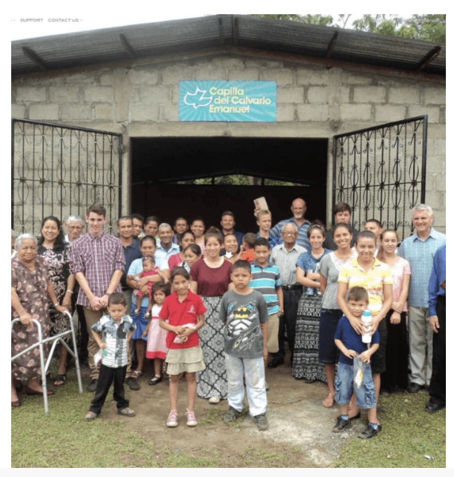Nicaragua church website with Spanish Bible Studies