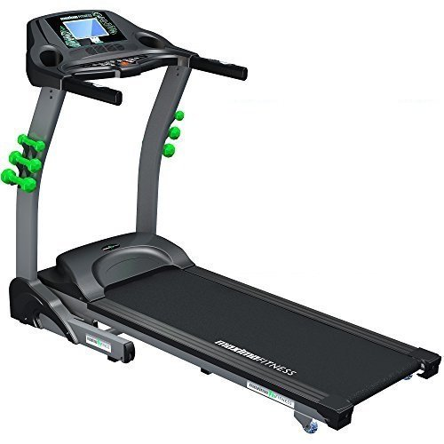Maxima Fitness MF-3000-TT Tracksport Touchscreen Console Control Auto-Incline Folding Treadmill - Grey